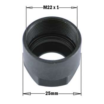 COLLET CLAMPING NUT